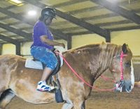 Horseback riding lessons help children affected by domestic violence