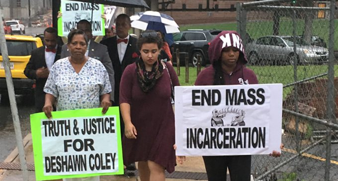 Protesters demand answers following deaths at Forsyth County Jail