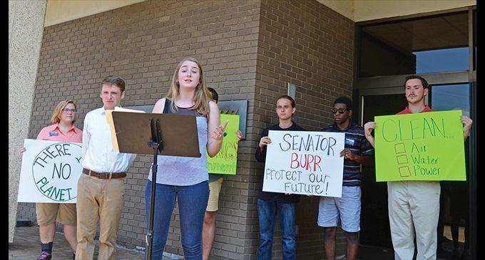 Activists urge Burr to oppose massive EPA cuts