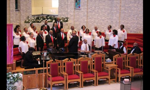 Church choir celebrates choir directors