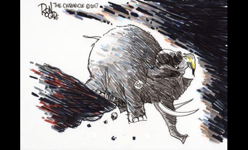 Editorial Cartoon: Close to the Edge?