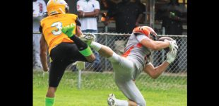 Semi-pro football team takes on local rival