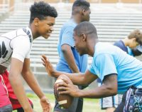 Clinic for kids focuses on agility, quickness