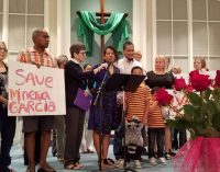 Winston-Salem mother takes sanctuary from deportation in Greensboro church