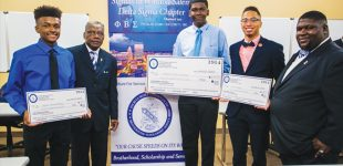 Phi Beta Sigma awards $2,000 in scholarships to local students