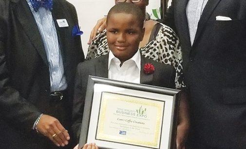 'Cam the creator' wins award