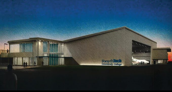 County commissioners to vote  on Forsyth Tech airport lease
