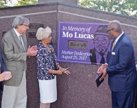 Mo Lucas honored on Citizen's Memorial Wall