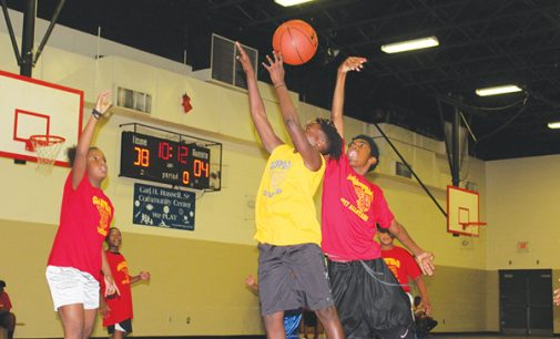 Kids display skills at camp