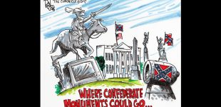 Editorial Cartoon: Confederate Momuments