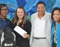 East Coast Wings makes generous donation to local school