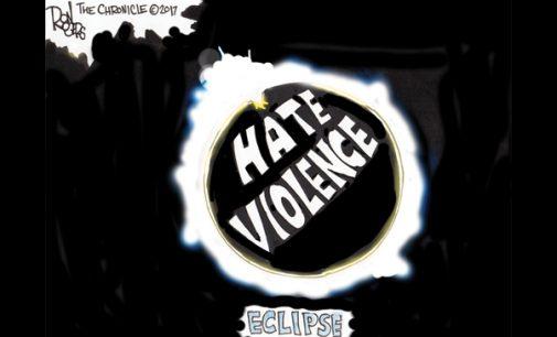 Editorial Cartoon: Eclipse
