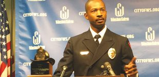 Local man named N.C. Firefighter of the Year
