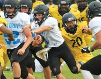 First look: Coaches get chance to view players during football jamboree