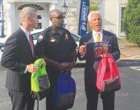 WSPD, Daggett-Shuler provide backpacks for  students in need