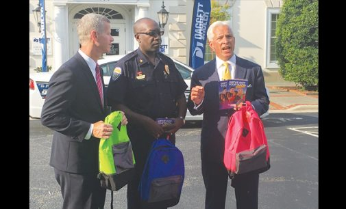 WSPD, Daggett-Shuler provide backpacks for  students in need
