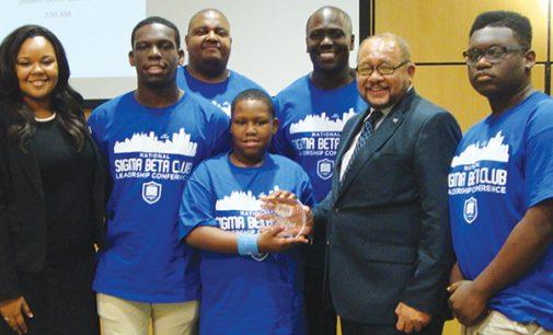 Local Sigma Beta Club, member win awards
