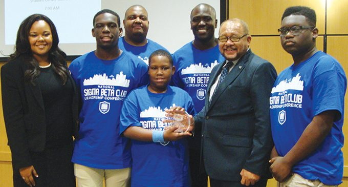 Local Sigma Beta Club, member win awards