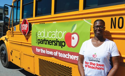 Stuff-the-Bus collects supplies for teachers