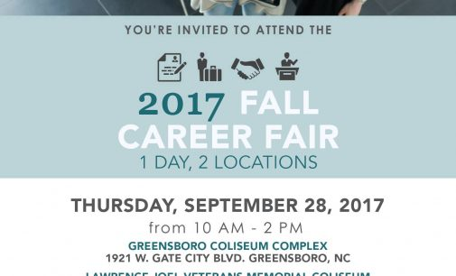 Don't forget about the job fair on Thursday at the Coliseum!