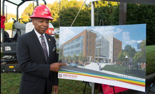 WSSU breaks ground on $53.3 million science building