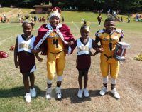 Youth football team celebrates annual homecoming