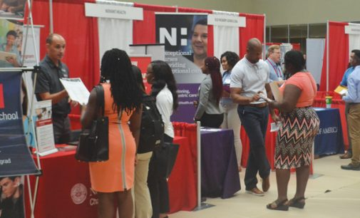 Jobs expo covers the bases for students and employers