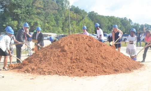 School officials, students, alumni break ground on Paisley/Lowrance