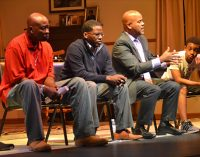 Play provides opportunity for talk about manhood