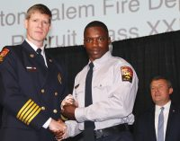 Fire Department welcomes largest recruit class