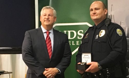 Powell named WSPD Officer of the year