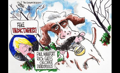 Editorial Cartoon: Mueller catch