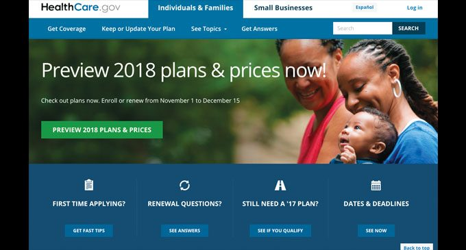 Shorter open enrollment period has begun for ACA