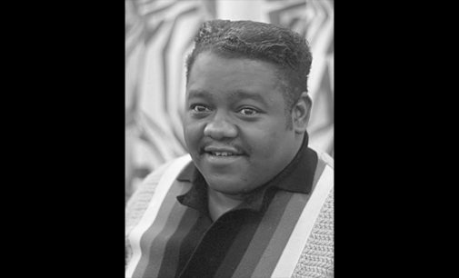 Commentary: Fats 'The Fat Man' Domino: musical genius
