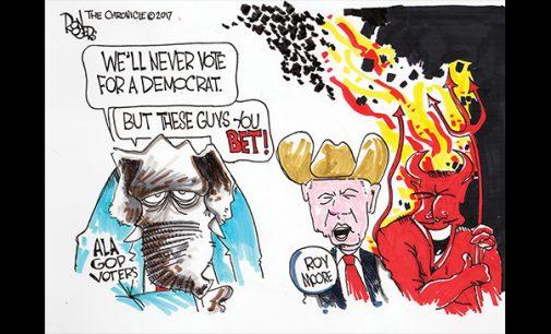 Editorial Cartoon: Alabama Voting