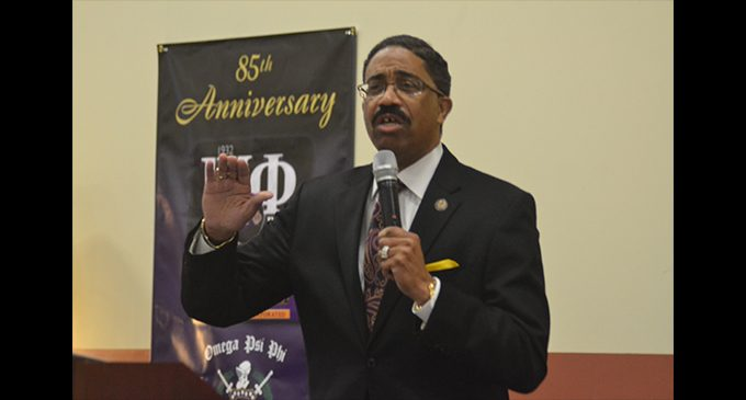 Justice Morgan tells Omegas to answer the call