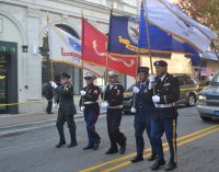 Locals show appreciation during Veterans Day