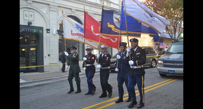 Locals show appreciation during Veterans Day