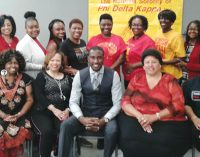 WS/FCS Title I Department, National Sorority of Phi Delta Kappa Inc. welcomes Michael Bonner