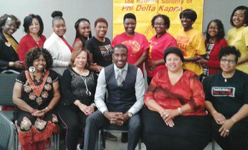 WS/FCS Title I Department, National Sorority of Phi Delta Kappa Inc. welcomes Michael Bonner
