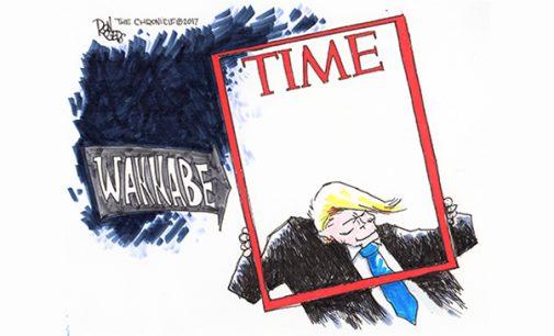 Editorial Cartoon: Wannabe