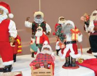 Mt. Zion member shares Christmas collection