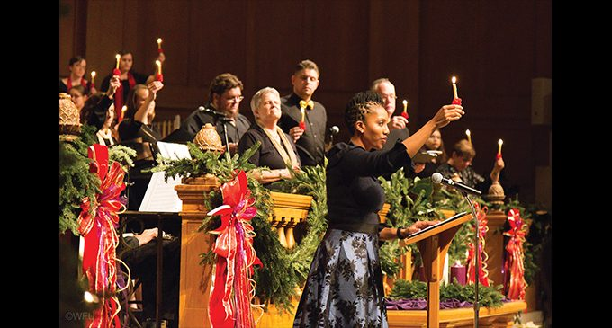 WFU Family Lovefeast spreads holiday love