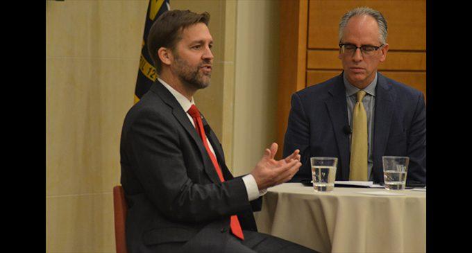 U.S. Senator Ben Sasse visits Wake Forest