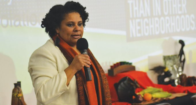 Oncologist kicks off Kwanzaa celebration
