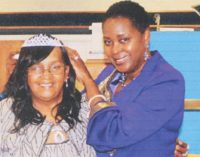 Ministers' wives and widows name a queen