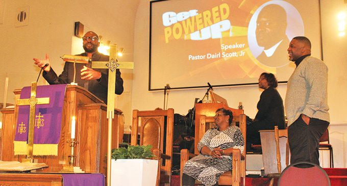 Church kicks new year off with inspirational sermons