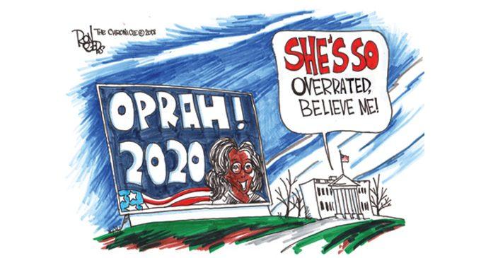 Editorial Cartoon: Oprah