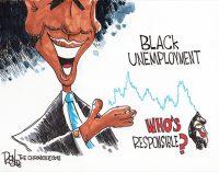 Editorial Cartoon: Black Unemployment