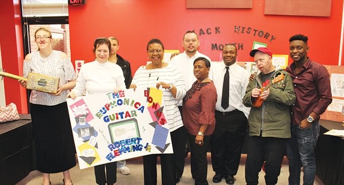 Group home clients celebrate Black History Month
